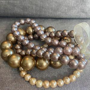 Jewelry - Bead Bracelets with Ribbon
